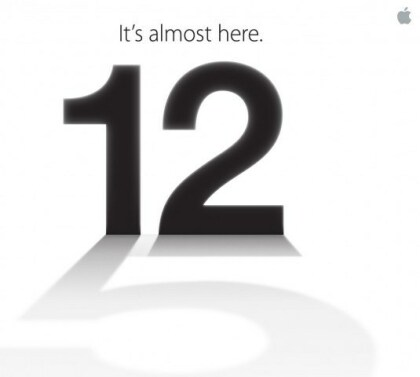 Apple iPhone 5: Einladung zum Event