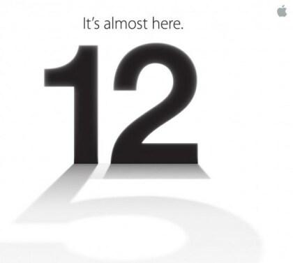 Apple iPhone 5: Einladung zum Event