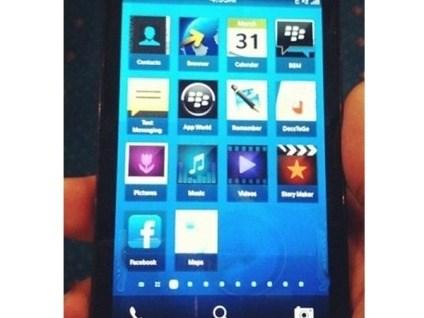 Foto-Leak: Blackberry 10