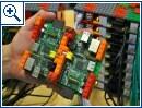 Supercomputer aus 64 Raspberry-Pi-Einheiten