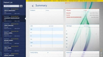 EMR Surface-App f�r Windows 8