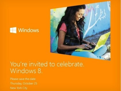 Windows 8 Launch Event