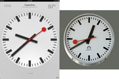 iOS 6 Uhren-App