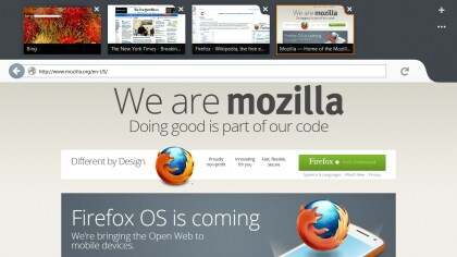 Firefox Preview für Windows 8