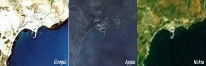 iOS-Maps zu scharf