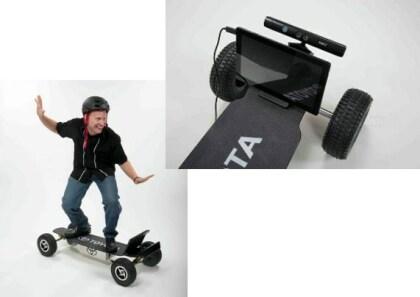 Toyota Kinect Skateboard