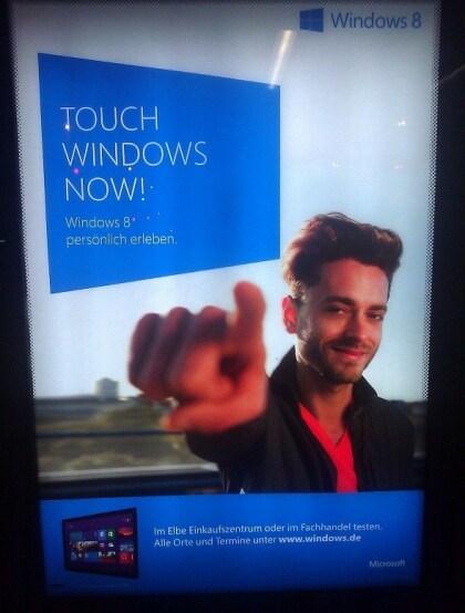 Microsoft Surface Werbung Deutschland