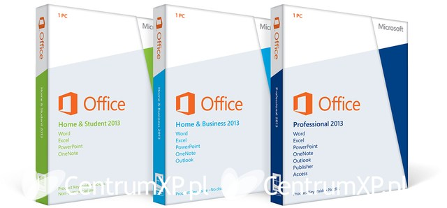 Office 2013 Packaging