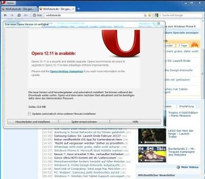 Opera 12.11