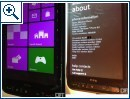 Windows Phone 8 auf dem HTC HD2