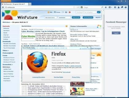 Firefox 17.0.1