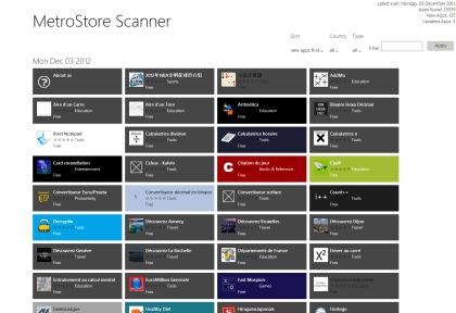 MetroStore Scanner