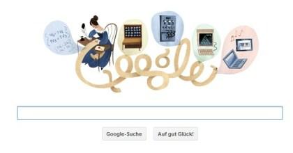 Google-Doodle: Ada Lovelace