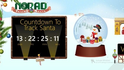 Windows 8 App: Santa Tracking