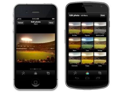 Foto-Filter: Twitter-App