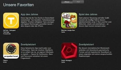 iTunes: Das Beste 2012