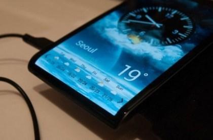 Flexibles Smartphone-Display von Samsung