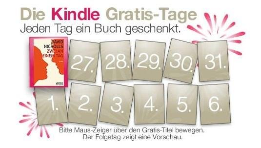 Kindle-Gratis-Tage