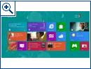 Windows 8 Lockscreen & Startscreen Entwürfe
