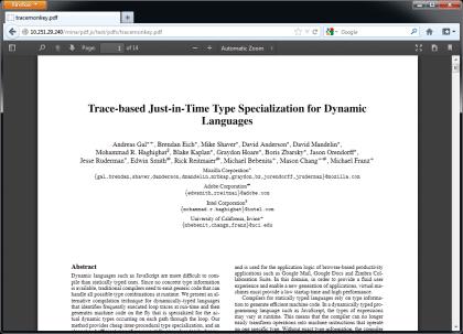 Firefox 19 PDF