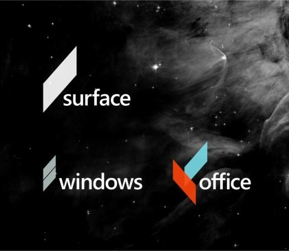 Microsoft-Logo-Entw�rfe von Andrew Kim