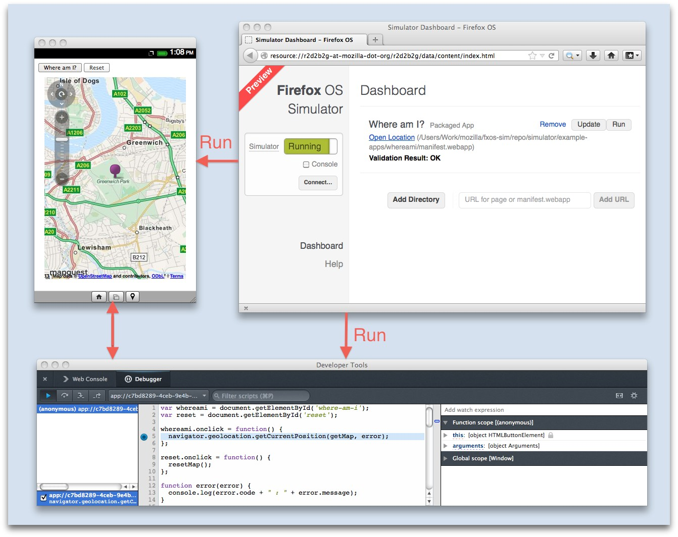 Mozilla stellt Firefox OS Simulator 3 0 online - WinFuture de