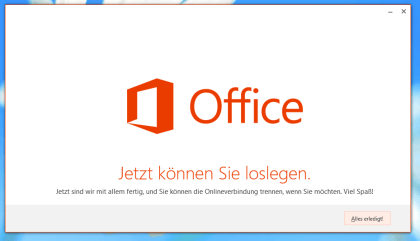 Office 2010 zu Office 2013