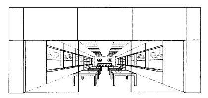 Apple Store Design Markenschutz