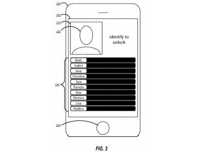 Apple-Patentantrag: Neue Methode zum Entsperren