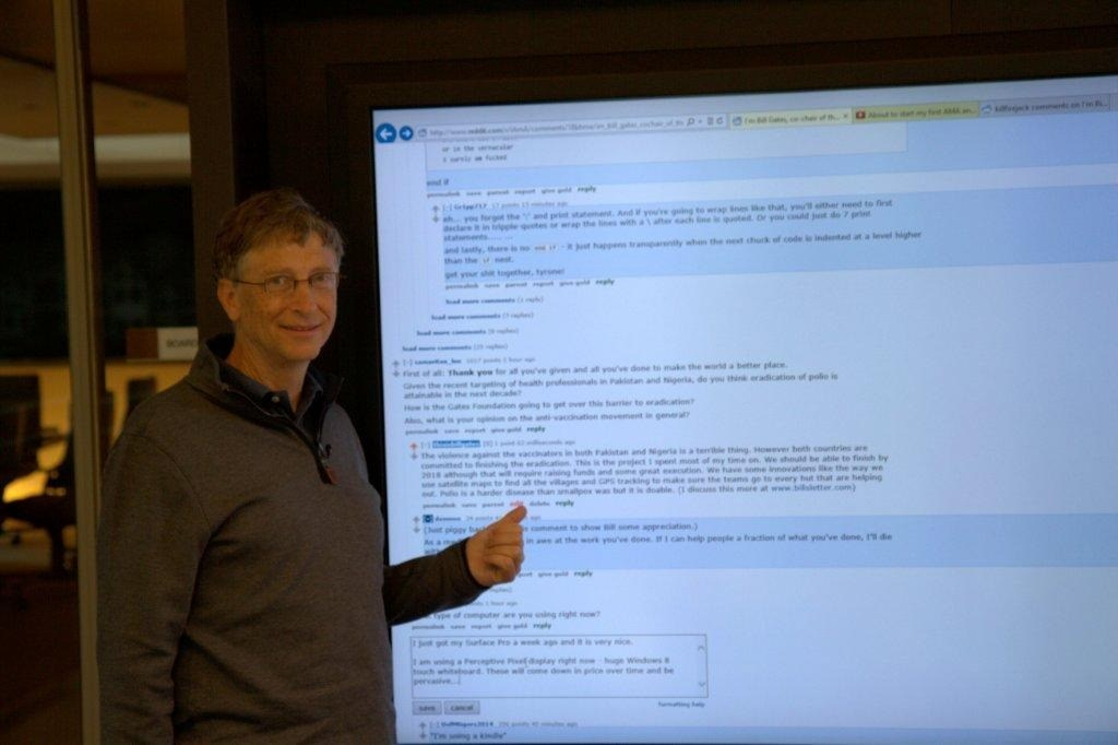 Bill Gates Reddit IAmA