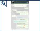 WhatsApp für Android mit Holo-Design