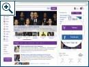 Das neue Seitendesign von Yahoo - Bild 1