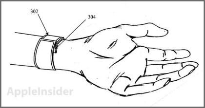 Apple-Patentantrag zu möglicher 'iWatch'