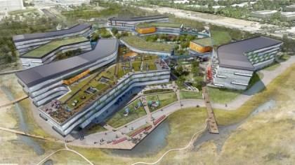 "Google Campus ""Bay View"""