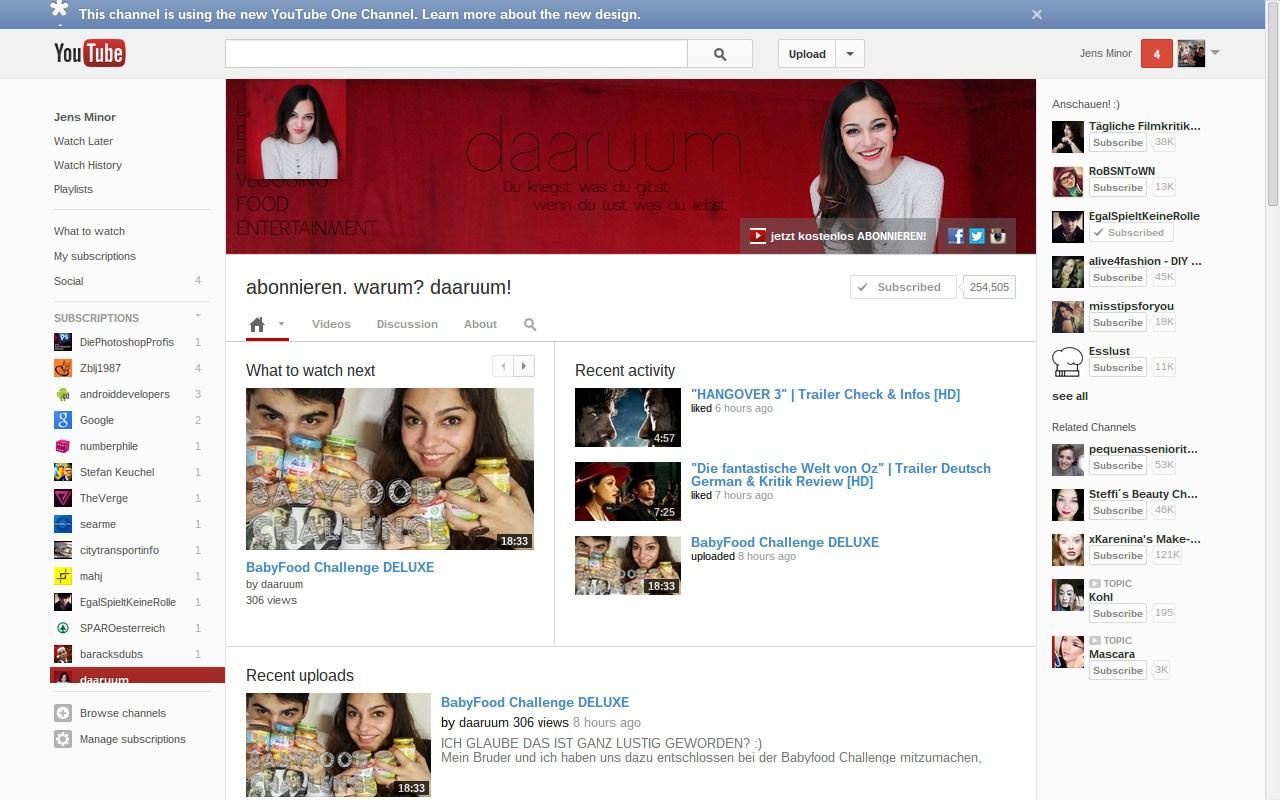 YouTube führt neues Channel-Design ein - WinFuture.de