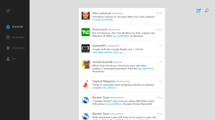 Twitter-Client für Windows 8 & RT