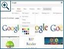 Google Bildersuche Filter