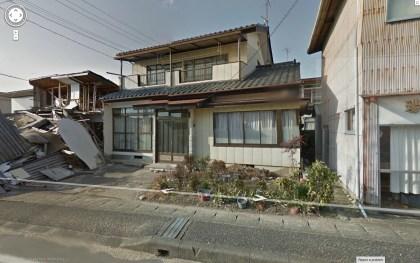 Streetview: Geisterstadt nahe Fukushima