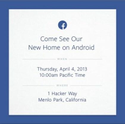 Facebook Android Event Einladung
