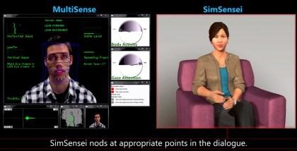 SimSensei - mit Kinect Depressionen erkennen