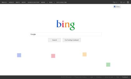 Aprilscherz: Bing wird zu Google