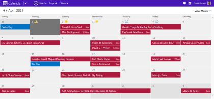 Outlook.com: Neue Kalender-Optik