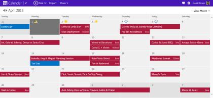 Outlook.com: Neue Kalender-Optik