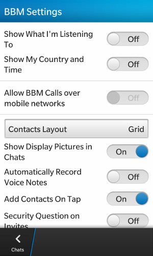 Blackberry 10: Sharing-Problem