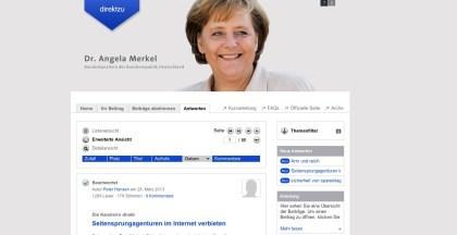 Merkel DirektzurKanzlerin