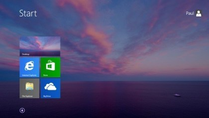 "Windows 8.1 ""Blue"" Start-Button"