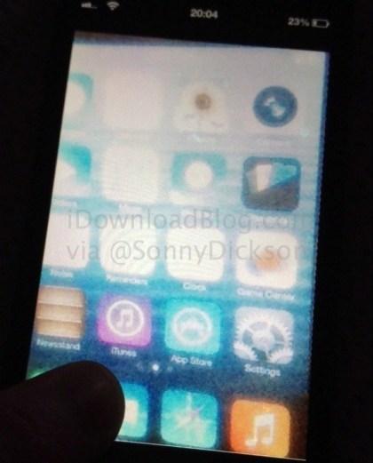 iOS 7: Leak