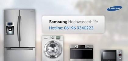 Samsung-Hochwasserhilfe