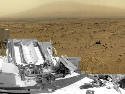 Curiosity: Mars-Panorama mit 1,3 Gigapixeln