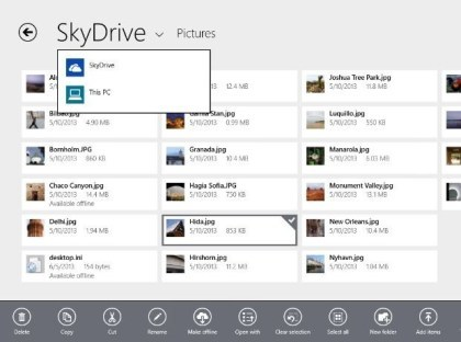 SkyDrive unter Windows 8.1